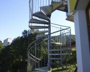 Edelstahlwendeltreppe | EdestahlGeländer.at