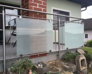 Edelstahlgeländer mit VSG-Glas | Edelstahlgelander.at